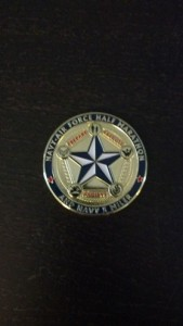 Blog-2014-00003 Jen - First Mile Pic 5 - Air Force Medal NOT USED YET