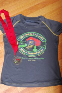 Kari - Covered Bridges Half Marathon Review Pic 1