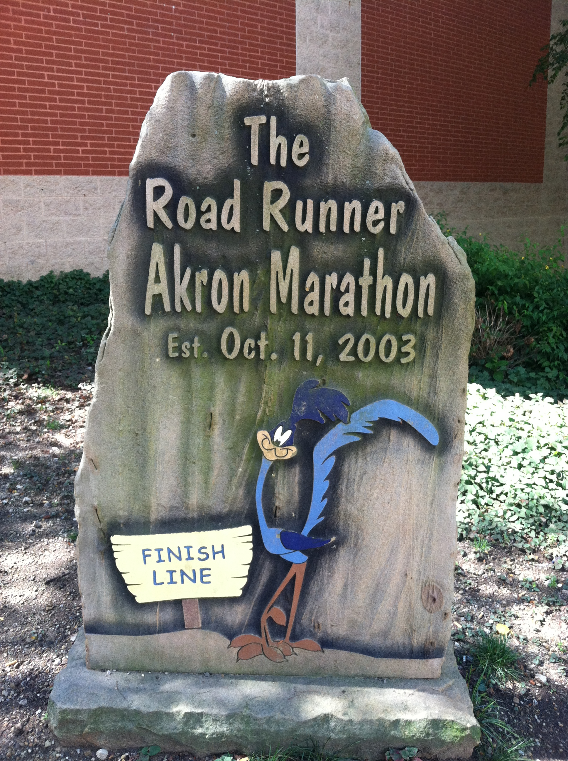 Running For Redemption, A Review of the 2013 Akron Half Marathon