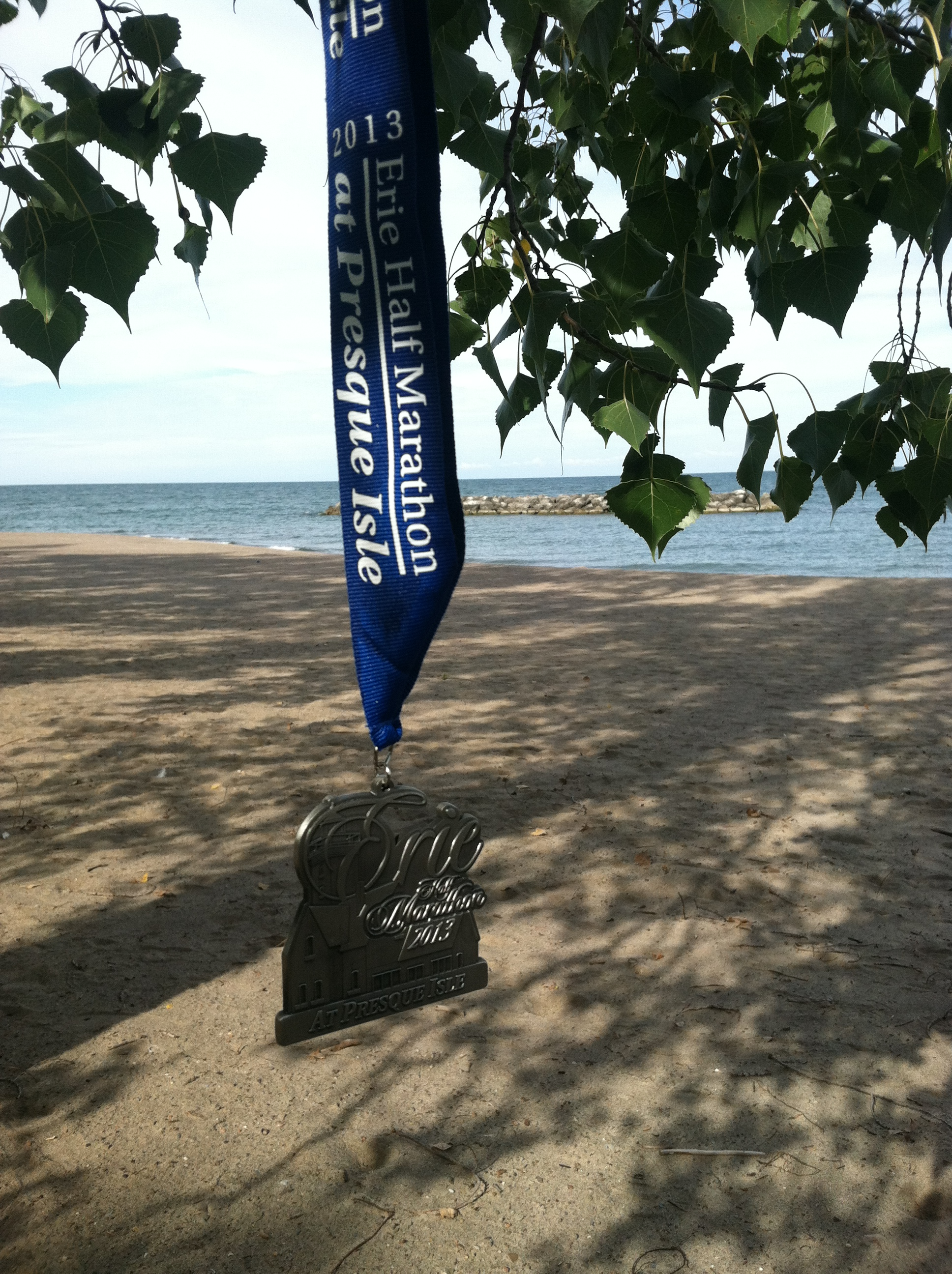 Running A Half Marathon On Half Your Legs, Race Review: 2013 Erie (Half) Marathon at Presque Isle