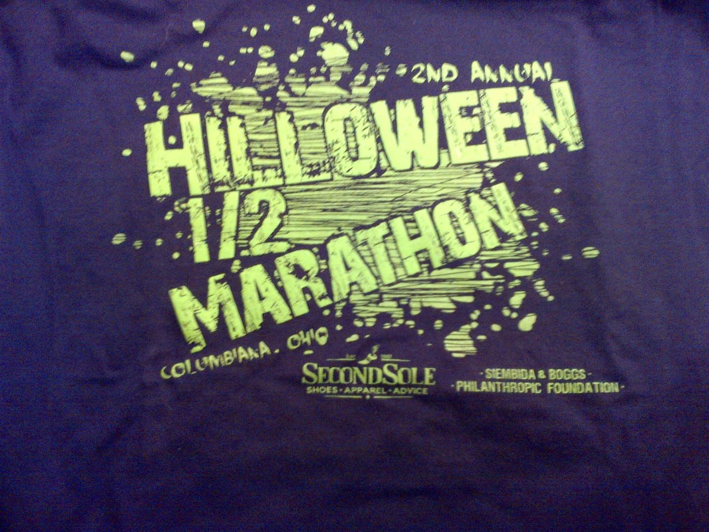 2014 Hilloween Half Marathon Review
