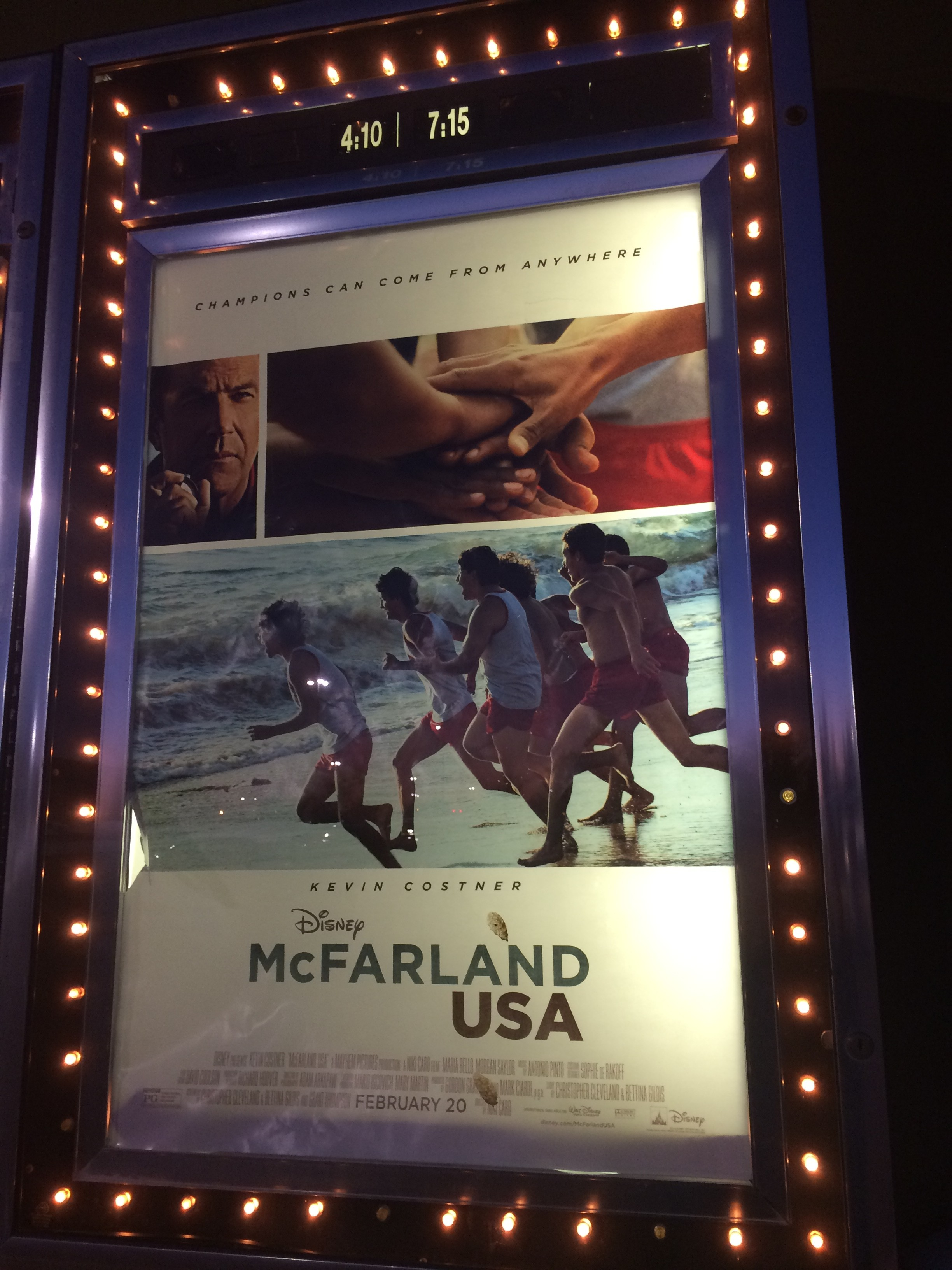 McFarland, USA (Movie Review)