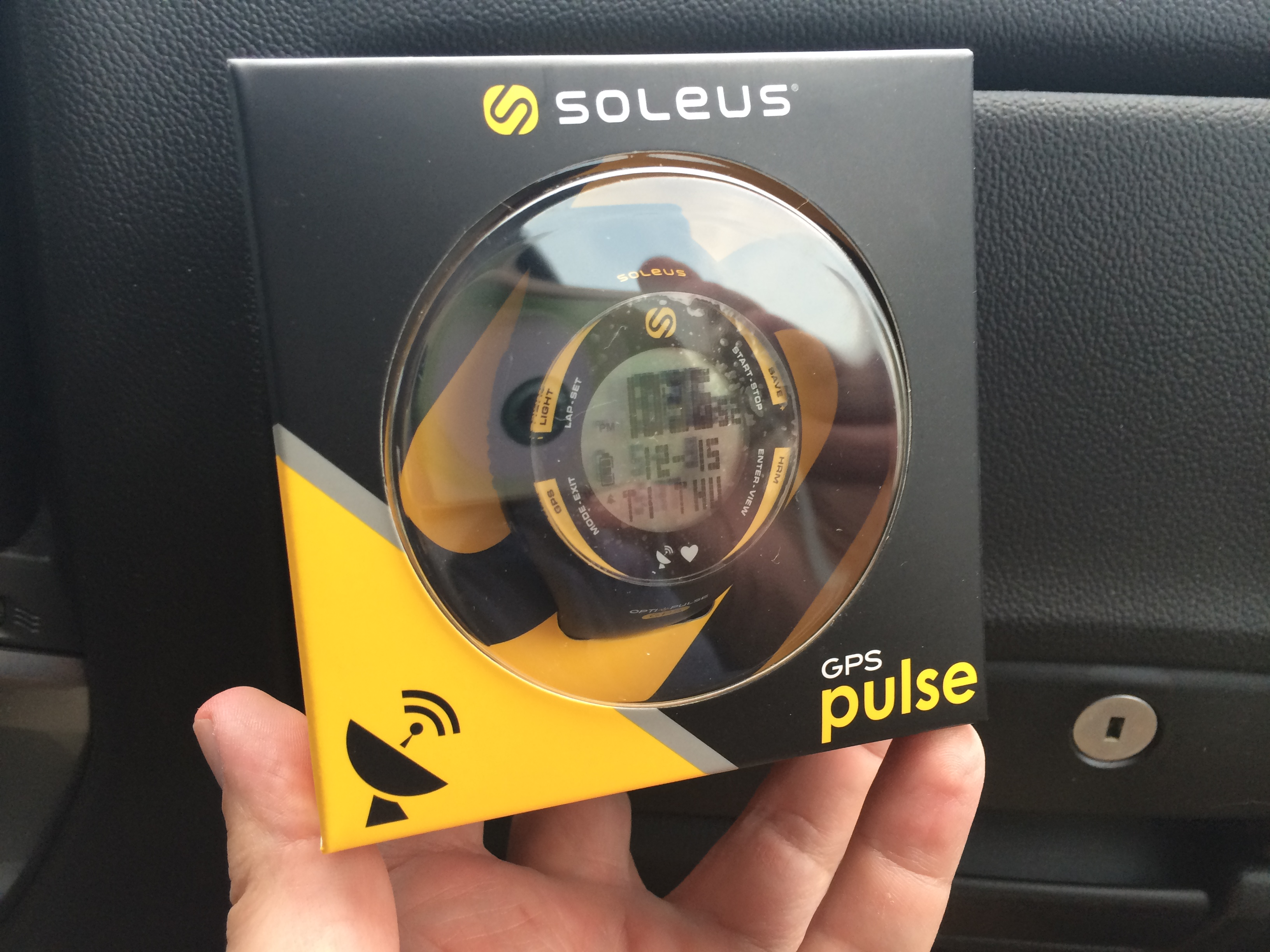 Soleus GPS Pulse Watch: Freeing Runners