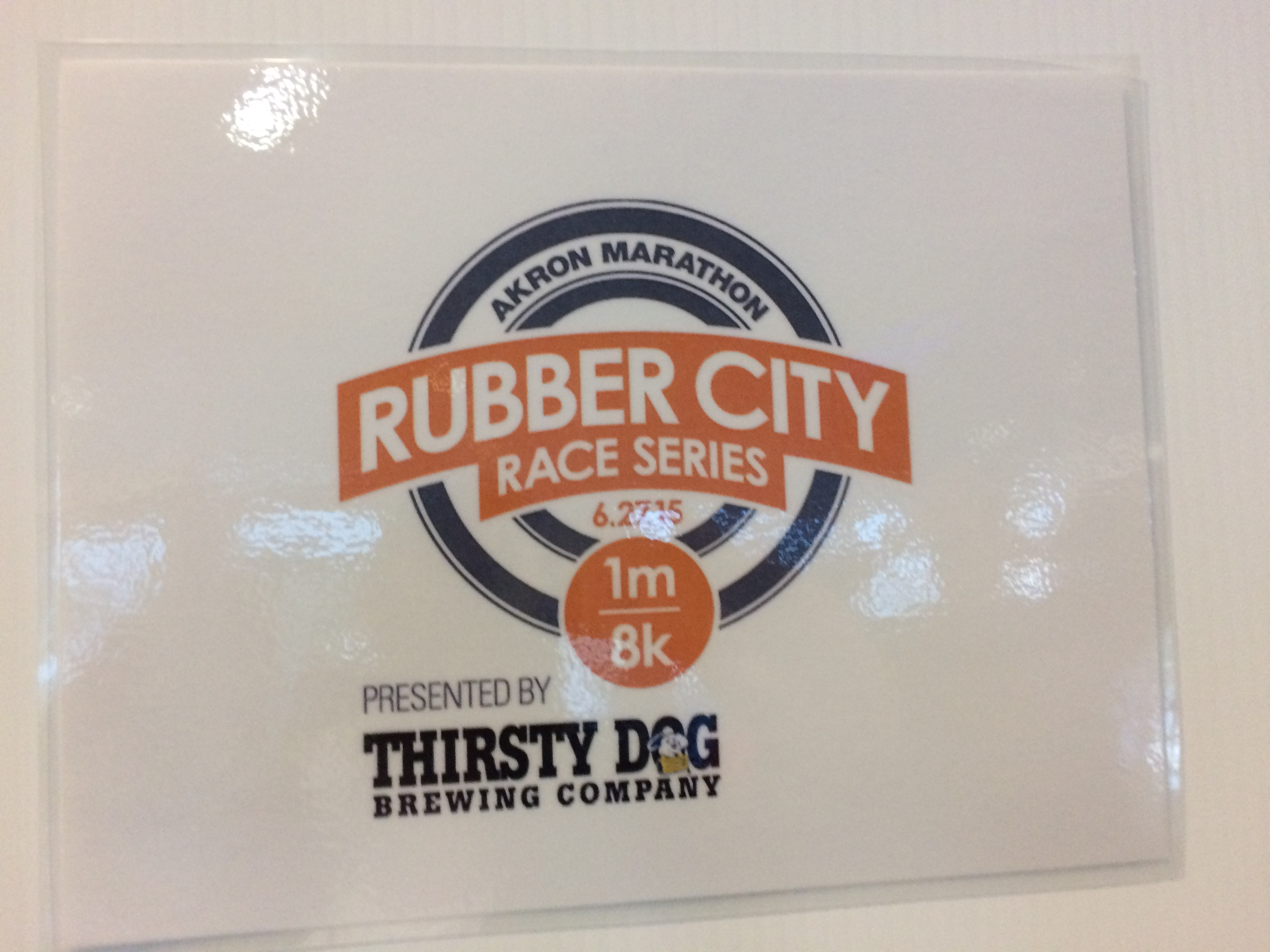 Rubber City Race Series: Thirsty Dog 8K