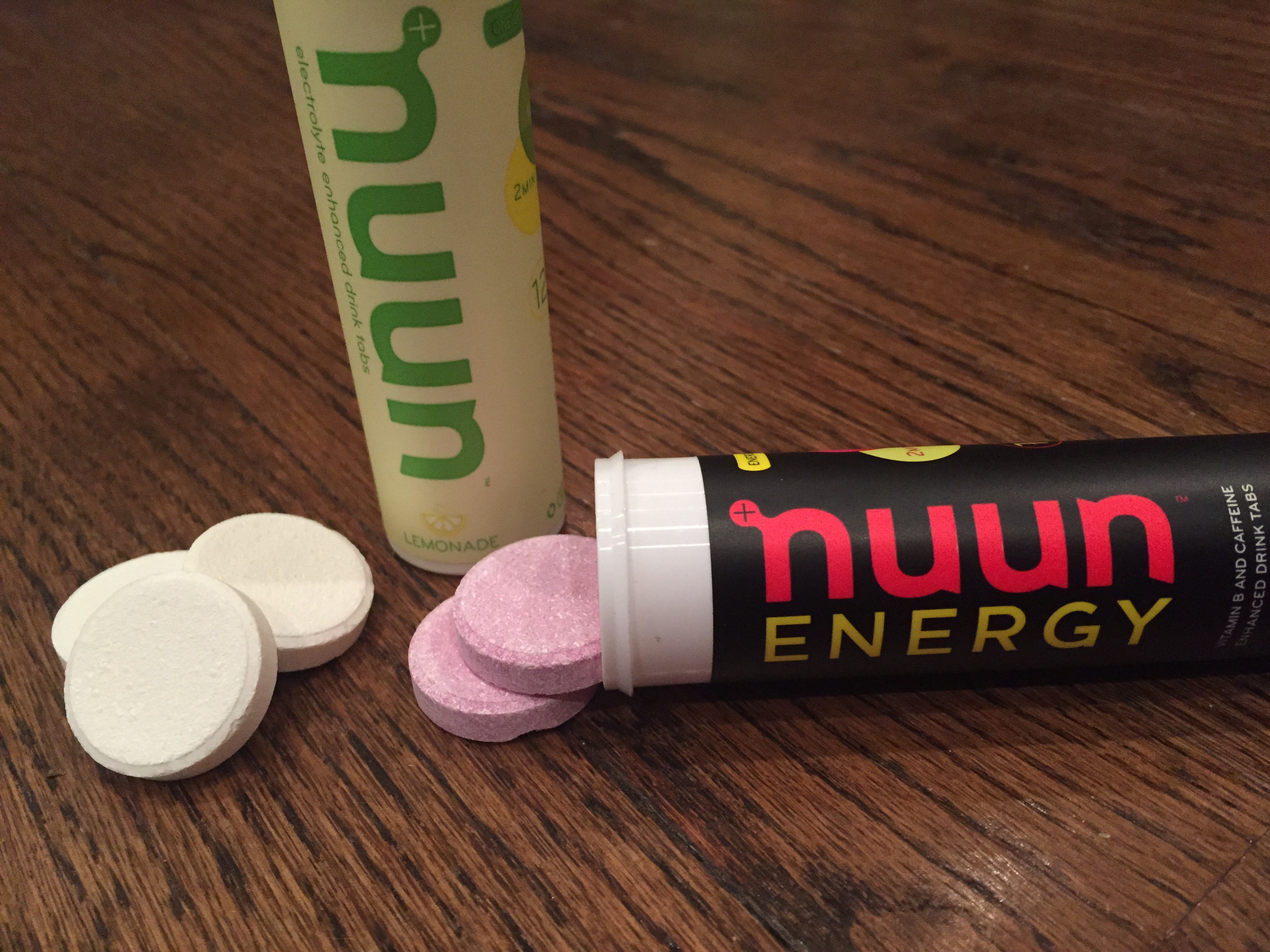 Nuun Cherry Limeade Energy & Lemon-Lime Classic