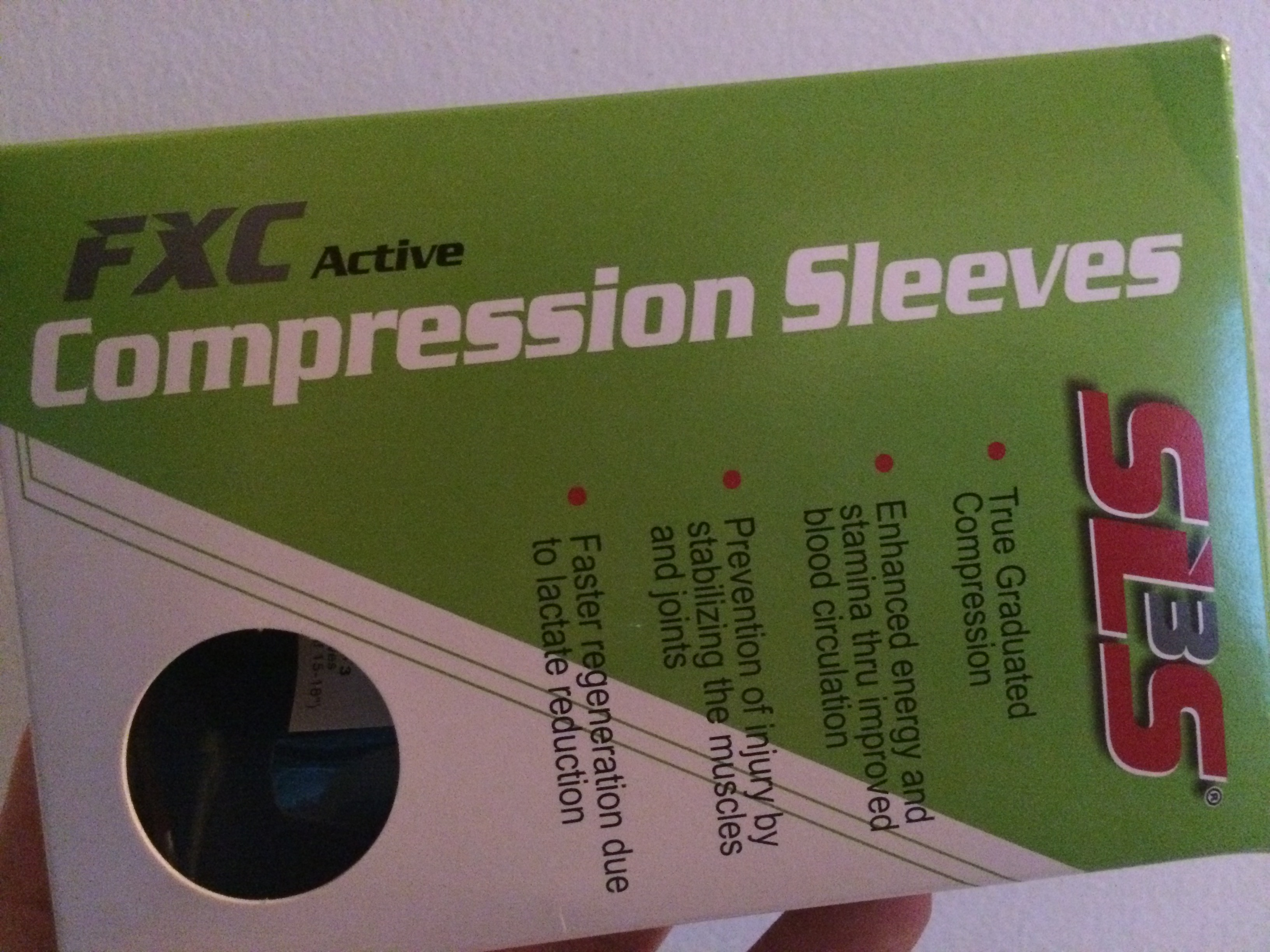 FXC Active Compression Sleeves (by SLS3)