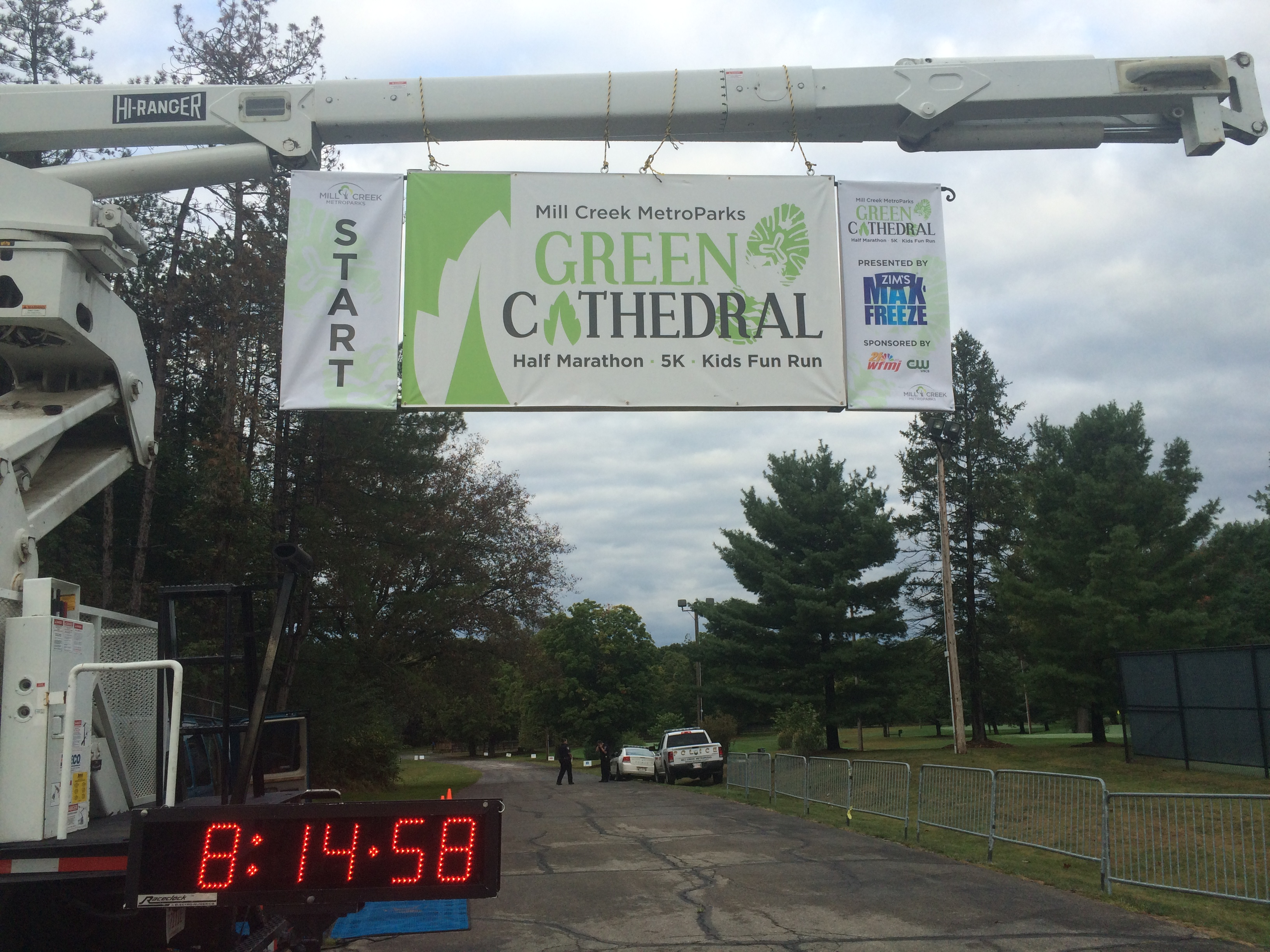 2015 Green Cathedral Half Marathon