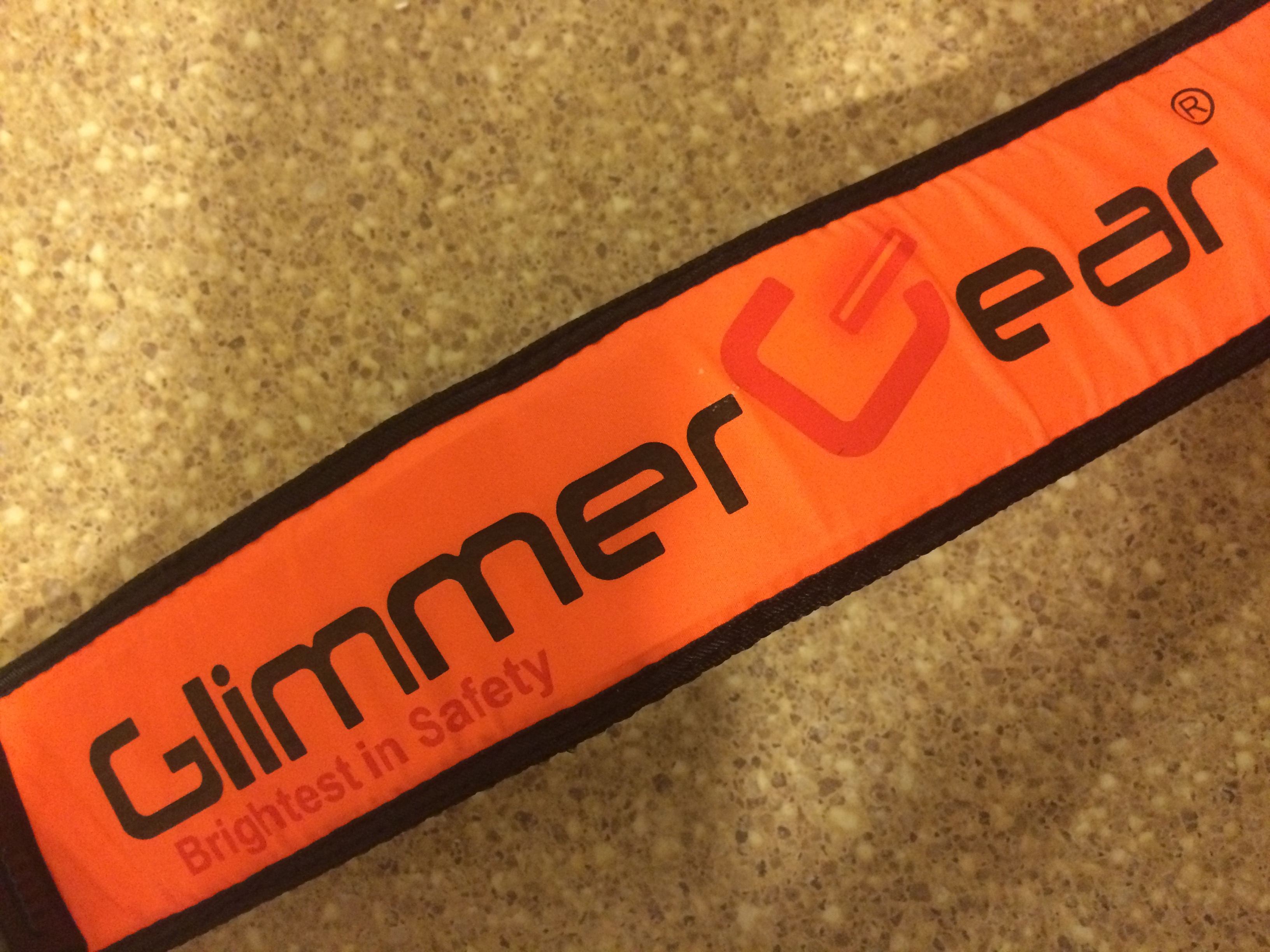 Glimmer Gear Solar LED Body Belt