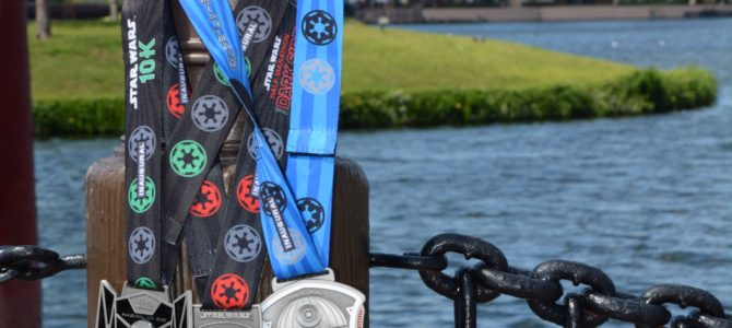 runDisney Star Wars Dark Side Half Marathon – Inaugural