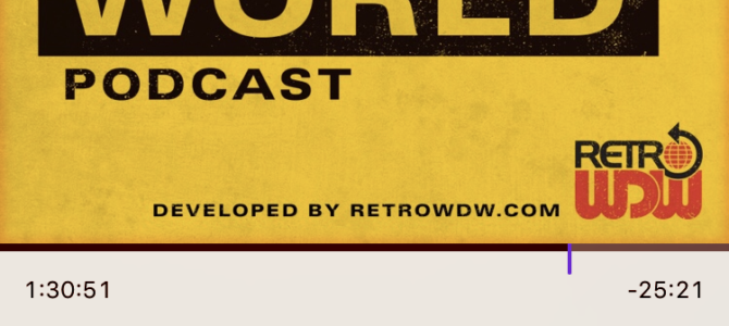 Playlist Peek: Retro Disney World Podcast