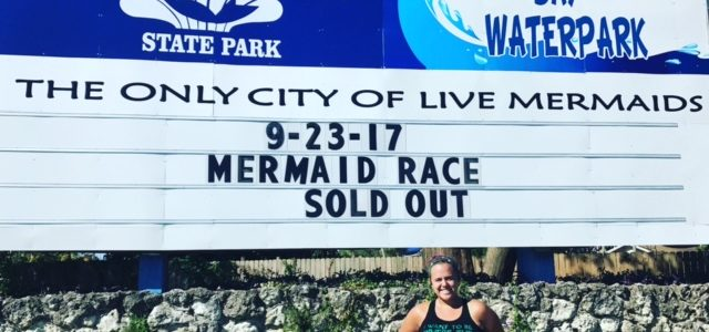 Weeki Wachee Springs Mermaid Race